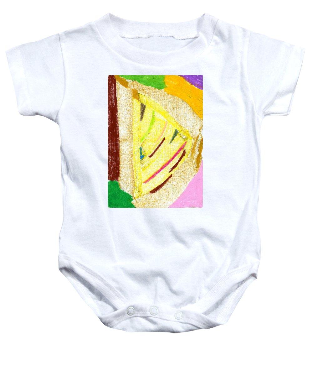 New Farmland Baby Onesie featuring the painting New Farmland by Taylor Webb