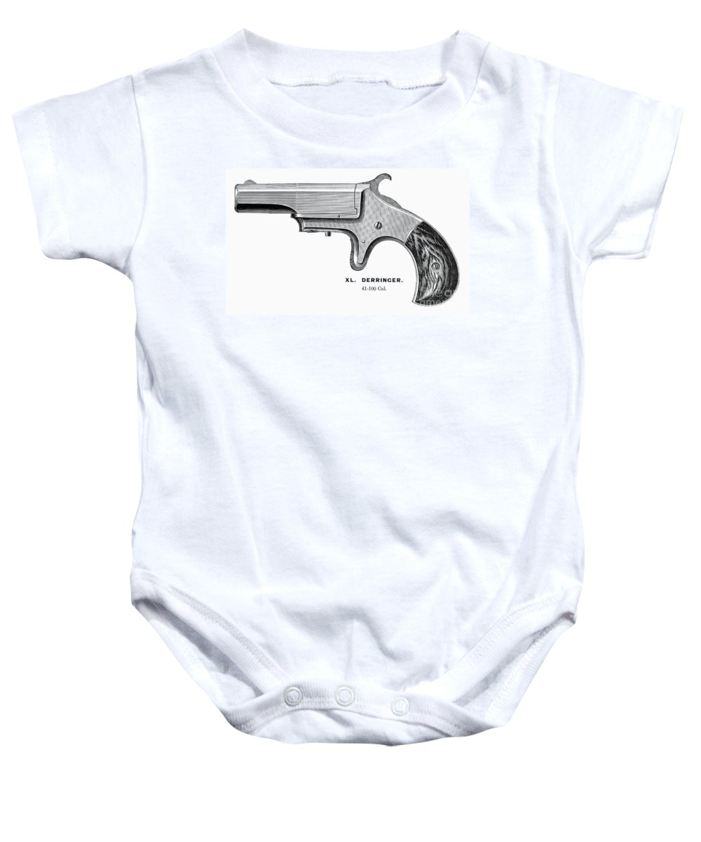 1880s Baby Onesie featuring the photograph Pistol, 19th Century by Granger