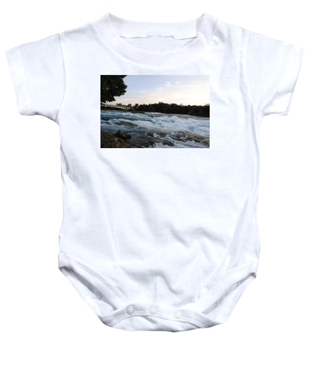 Baby Onesie featuring the photograph Rapids by Michael Frank Jr