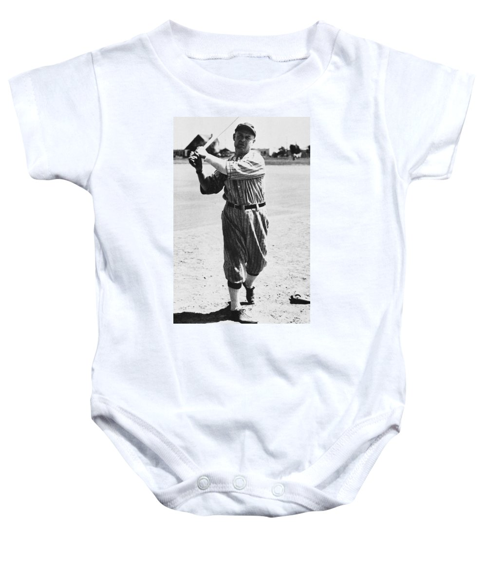 20th Century Baby Onesie featuring the photograph Samuel Crawford (1880-1968) by Granger