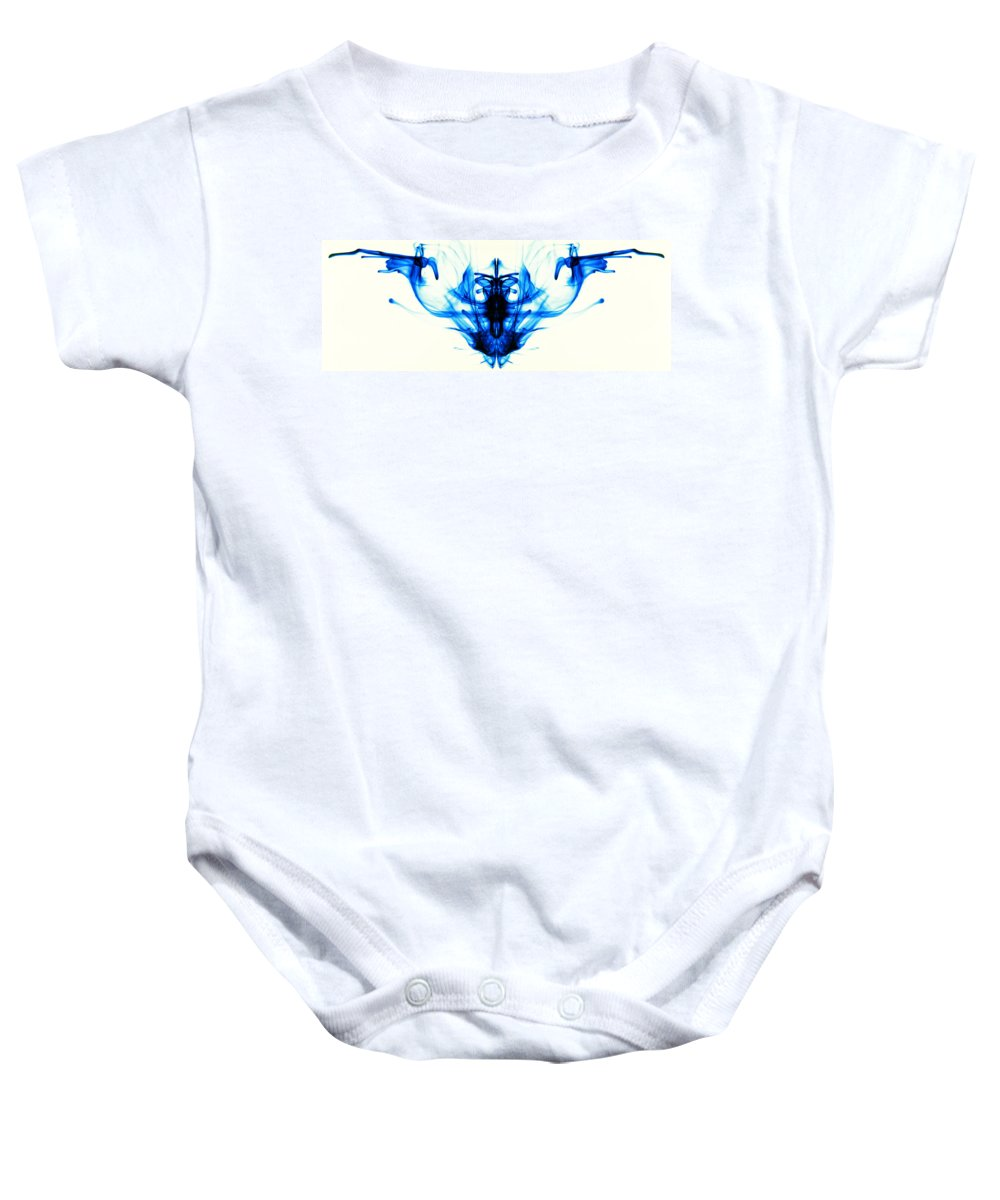 Abstract Baby Onesie featuring the photograph Sea Creature by Sumit Mehndiratta