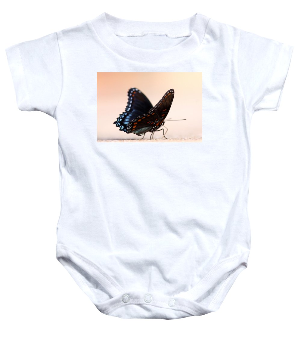 Swallowtail Butterfly Baby Onesie featuring the photograph Showing Colors by Travis Truelove