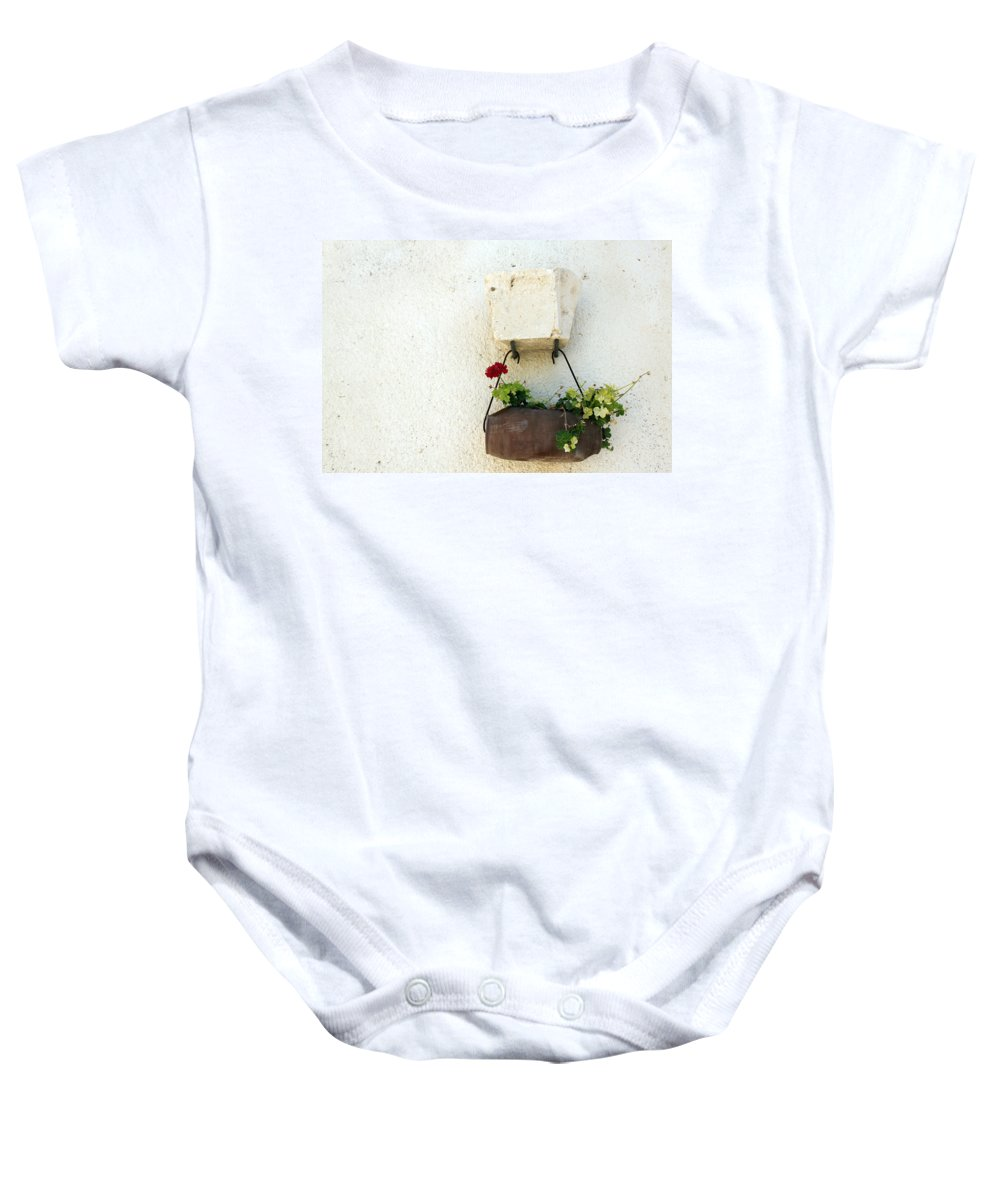 Rose Baby Onesie featuring the photograph Simply Red by Munir Alawi