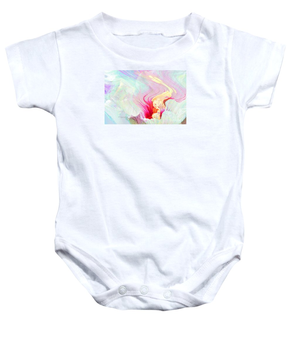 Flower Abstract Baby Onesie featuring the photograph Summer Breeze by Regina Geoghan