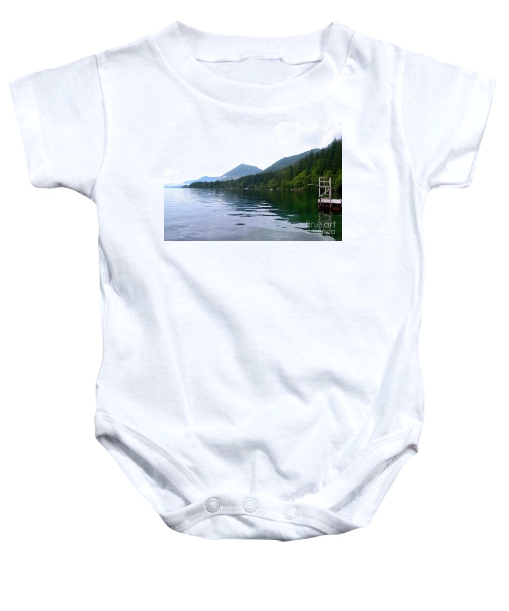 Ocean Baby Onesie featuring the photograph Sunrise2 by Traci Cottingham