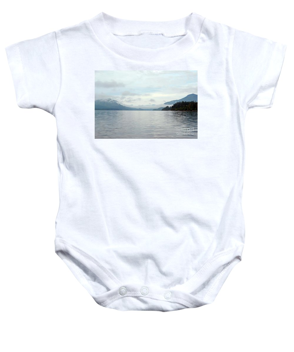 Ocean Baby Onesie featuring the photograph Sunrise4 by Traci Cottingham