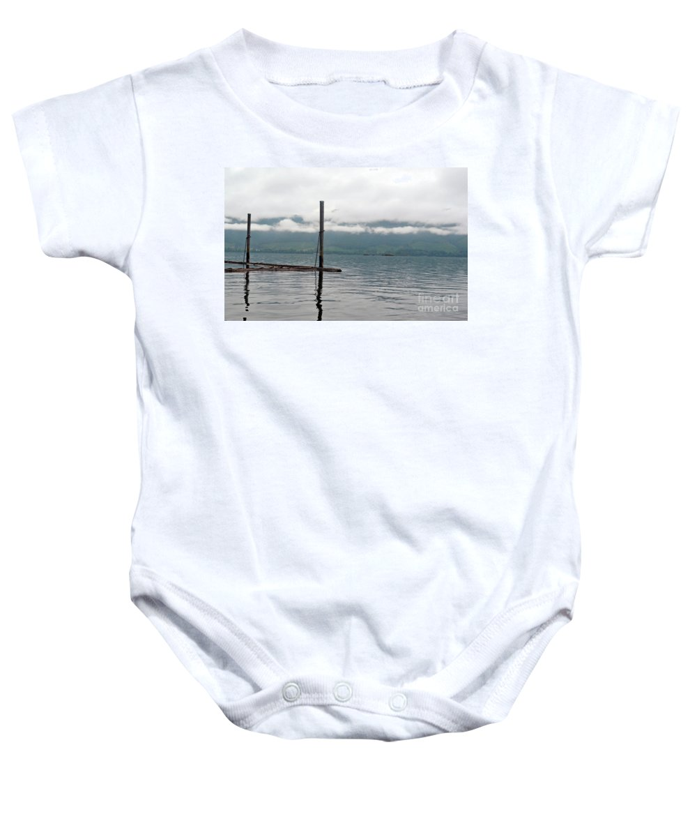 Ocean Baby Onesie featuring the photograph Sunrise5 by Traci Cottingham