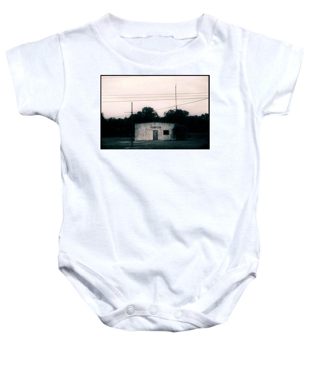 Louisiana Baby Onesie featuring the photograph Thompson- La Highway 80 by Doug Duffey