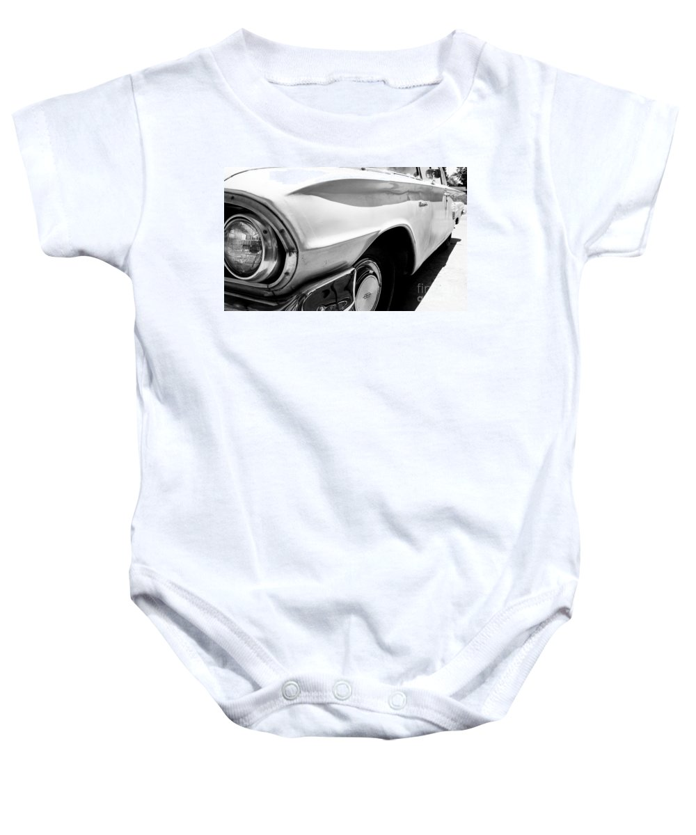 Biscayne Baby Onesie featuring the photograph Biscayne by Amanda Barcon