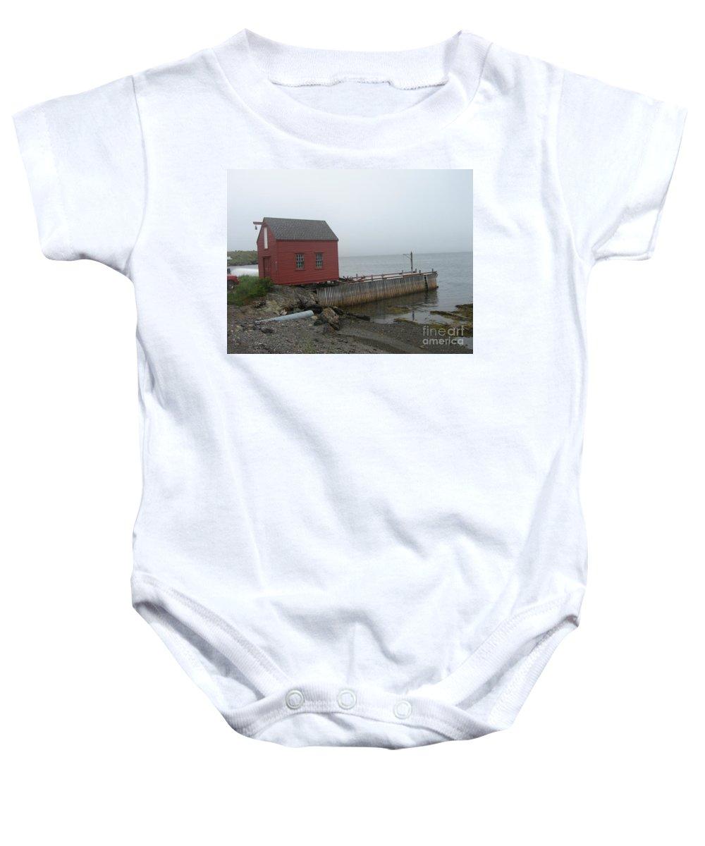 Photograph Bonavista Island Atlantic Ocean Newfoundland Baby Onesie featuring the photograph Bonavista by Seon-Jeong Kim