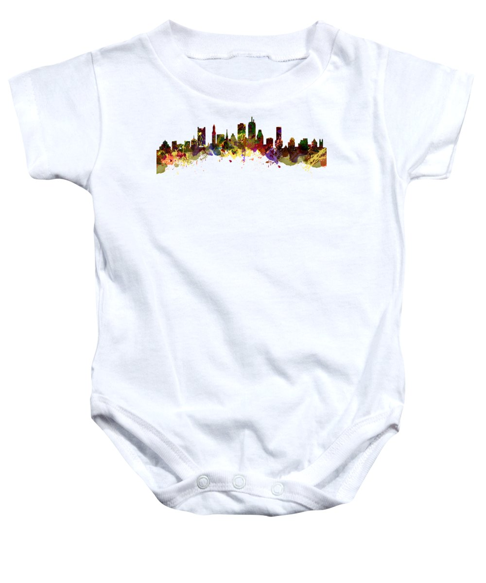 Boston Baby Onesie featuring the photograph Boston Usa by Chris Smith