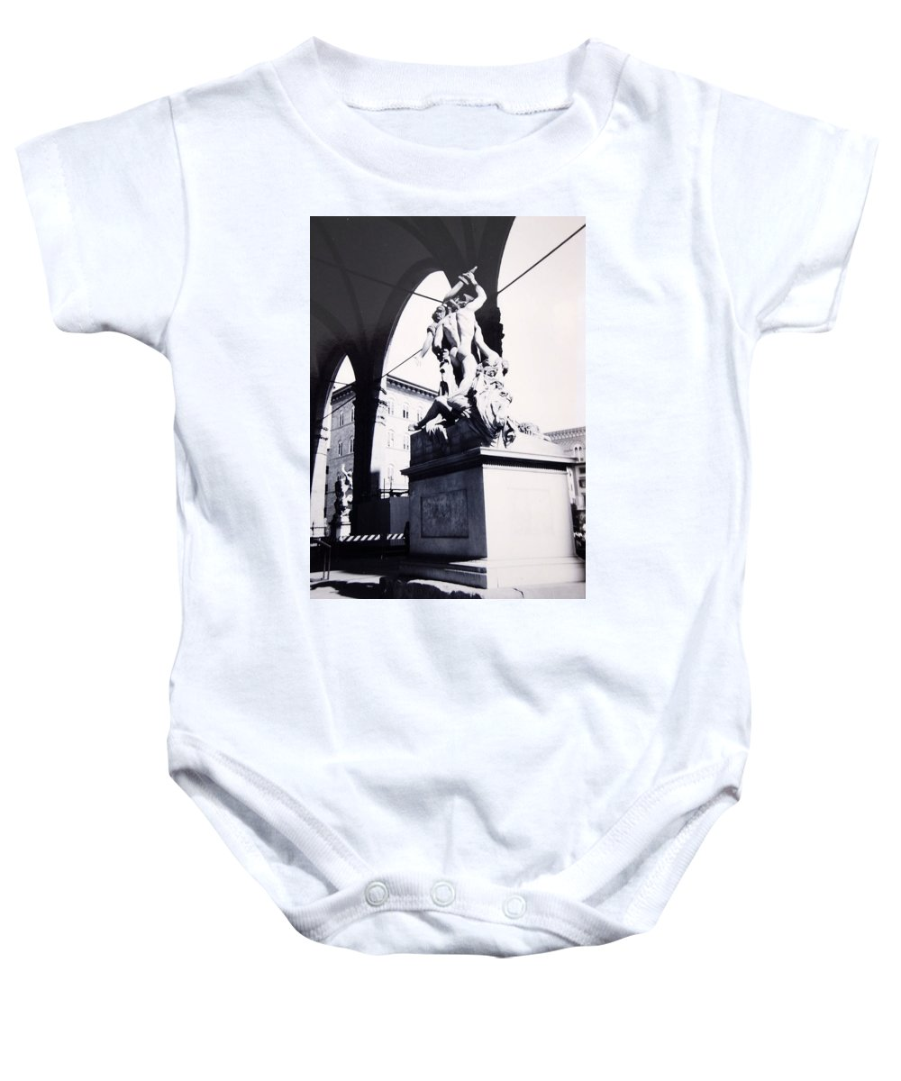 Firenze Baby Onesie featuring the photograph Florence by Kurt Hausmann