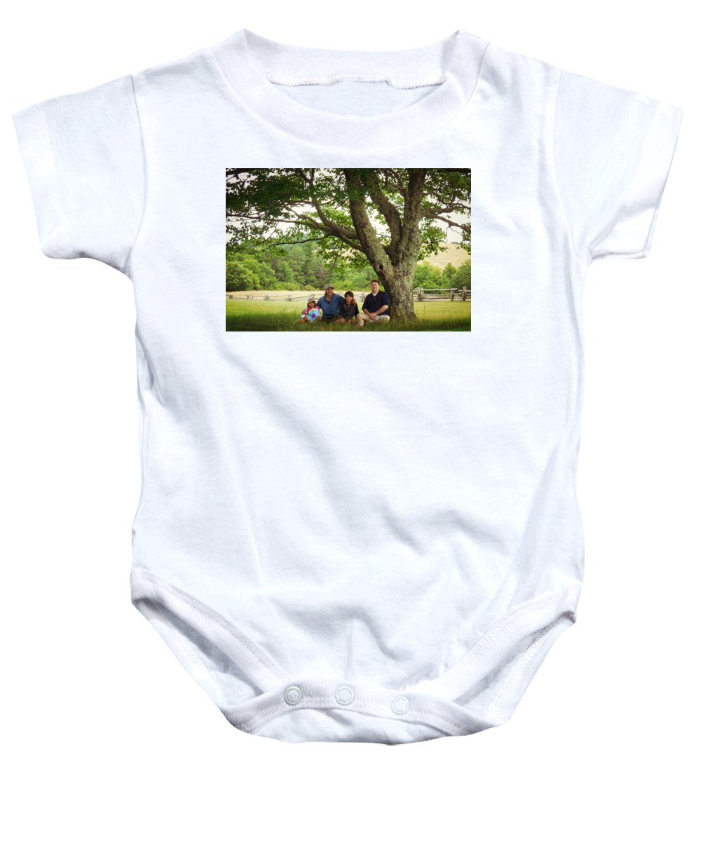Baby Onesie featuring the photograph New Upload by Valerie Reeves