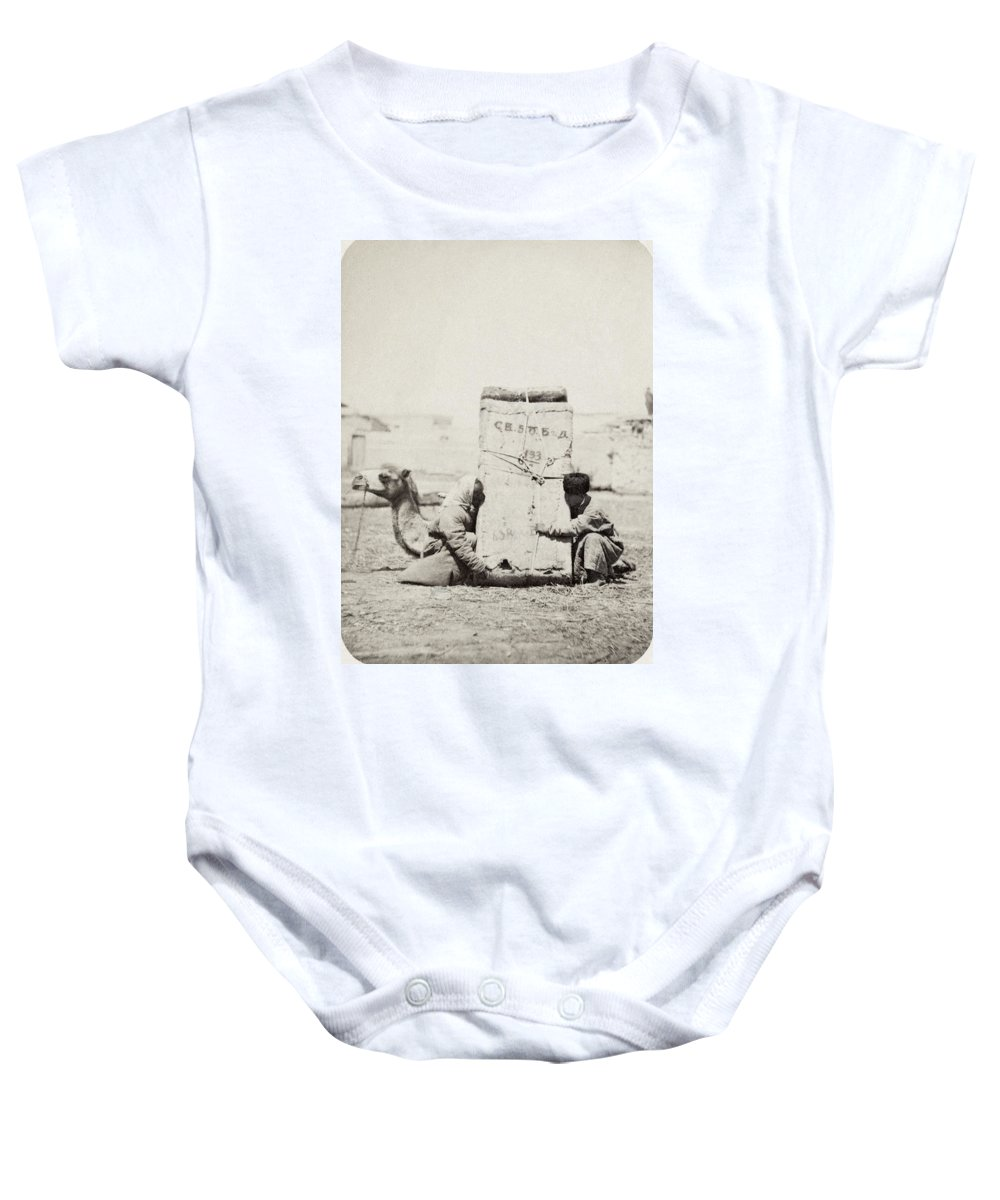 1870 Baby Onesie featuring the photograph Samarkand: Transport, C1870 by Granger