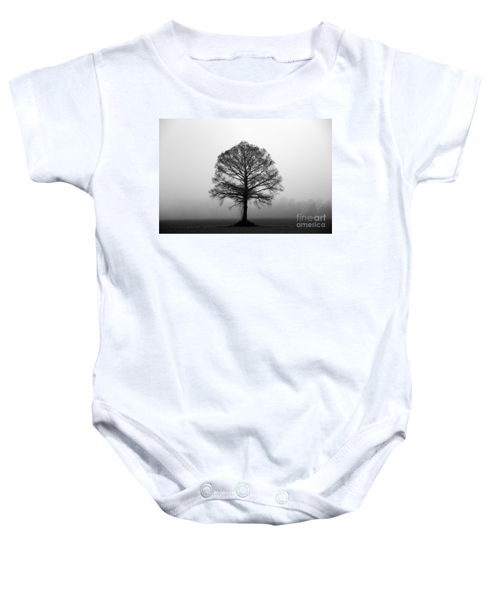 Tree Baby Onesie featuring the photograph The Tree by Amanda Barcon