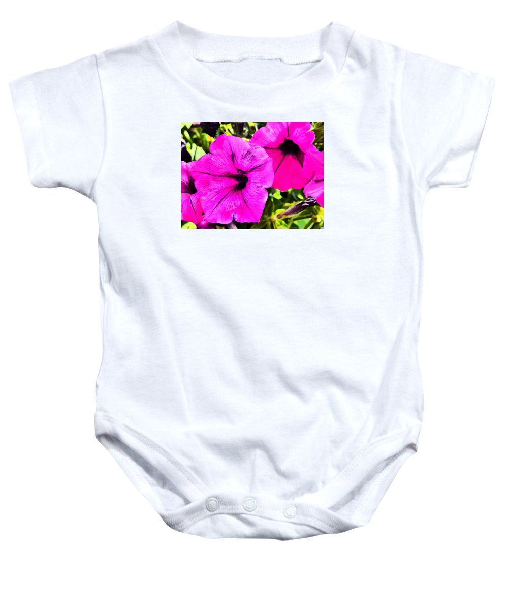 Paul Stanner Baby Onesie featuring the photograph Body Heat by Paul Stanner