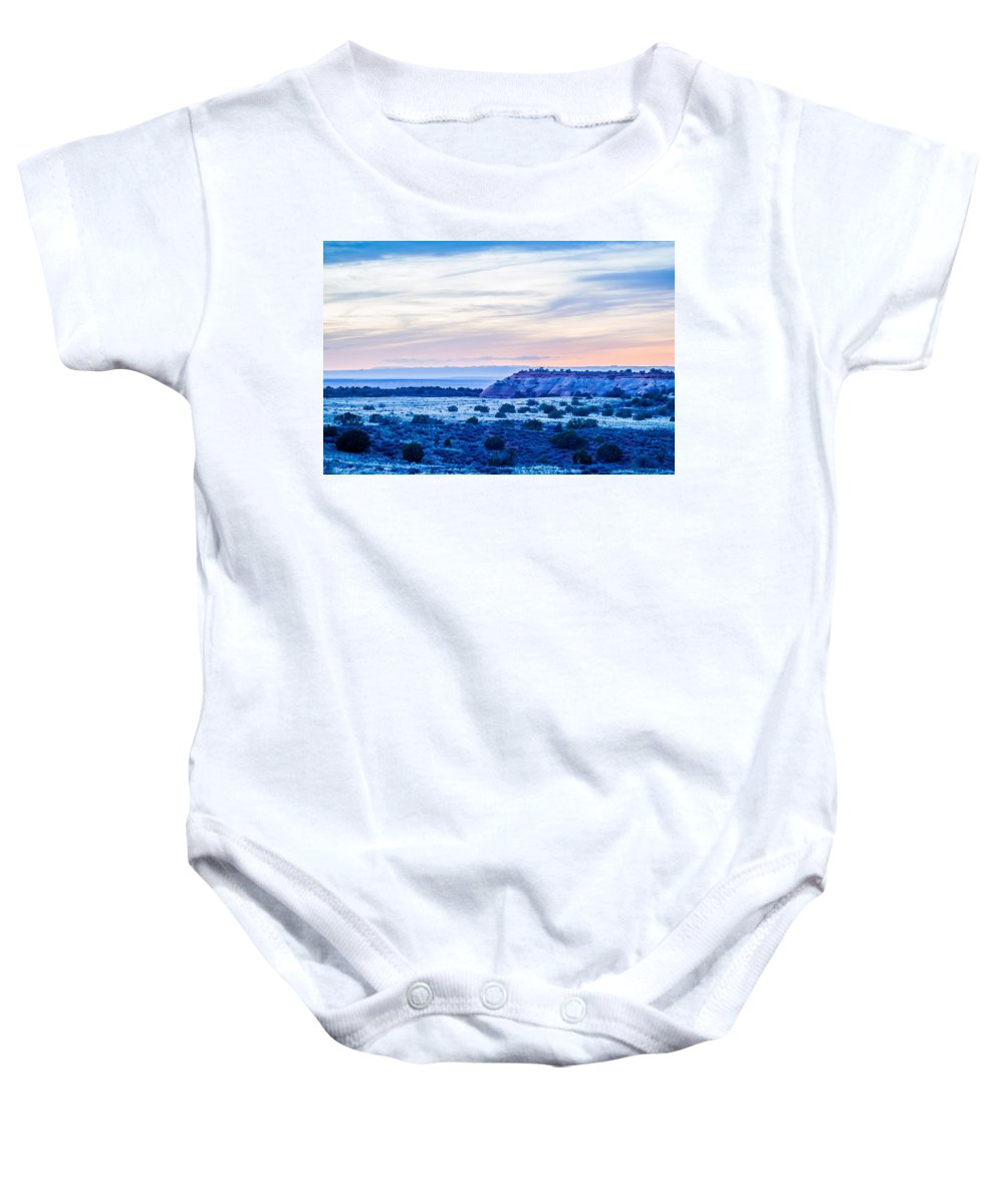 Park Baby Onesie featuring the photograph Canyonlands National Park Utah by Alex Grichenko