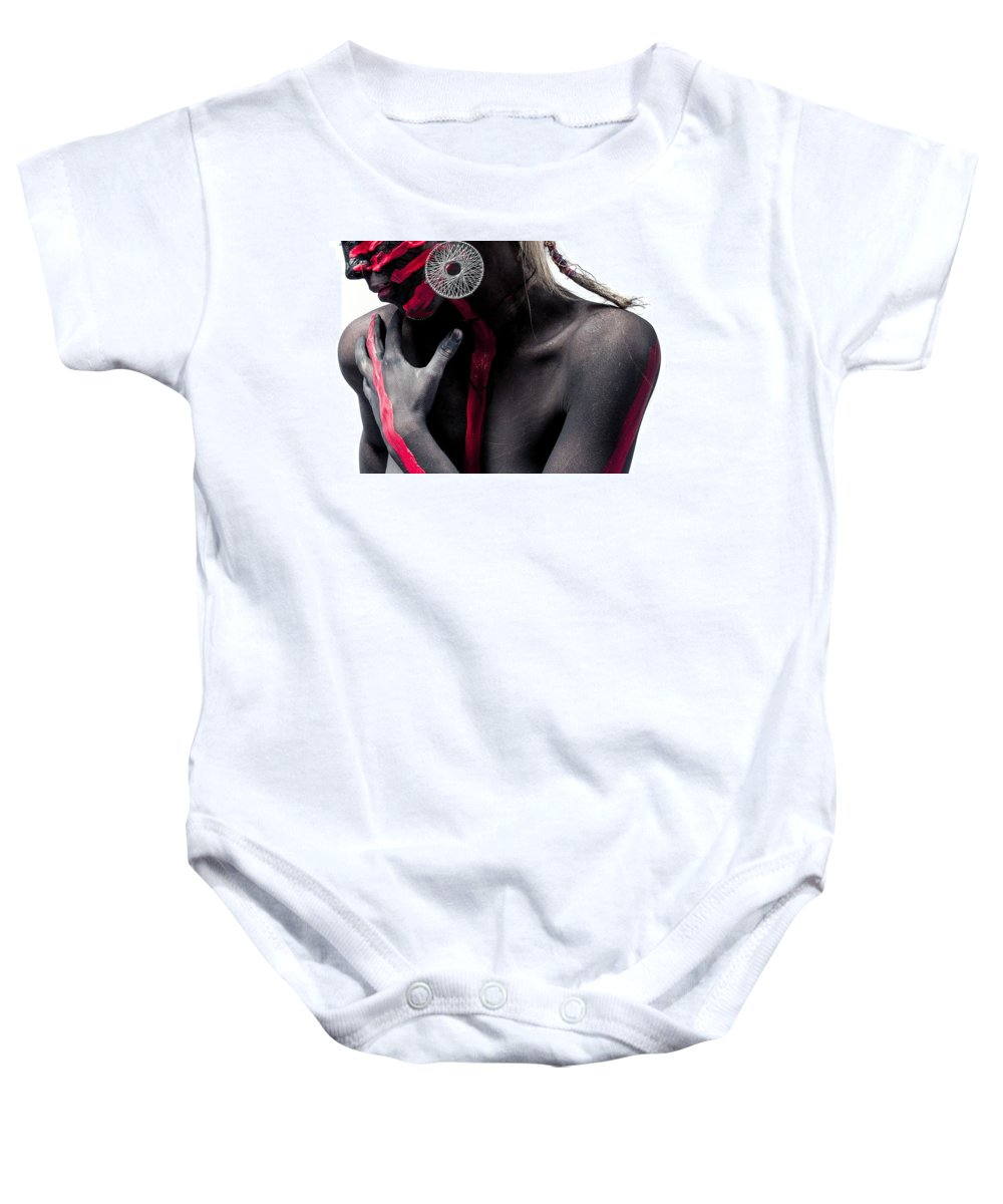 Beauty Baby Onesie featuring the photograph Painted by Mphatso Banda