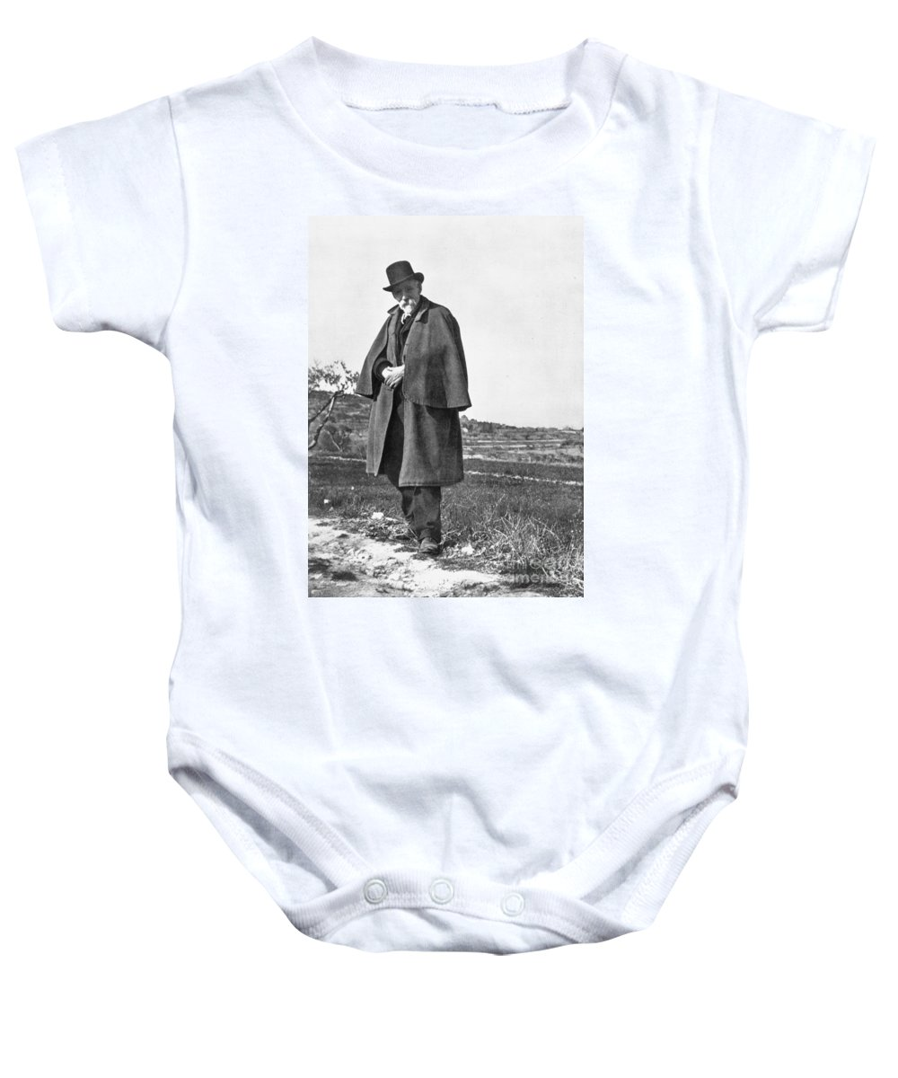 19th Century Baby Onesie featuring the photograph Paul Cezanne (1839-1906) by Granger