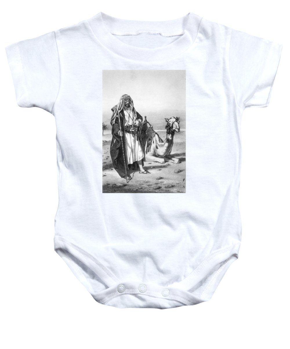 1857 Baby Onesie featuring the photograph Richard Francis Burton by Granger