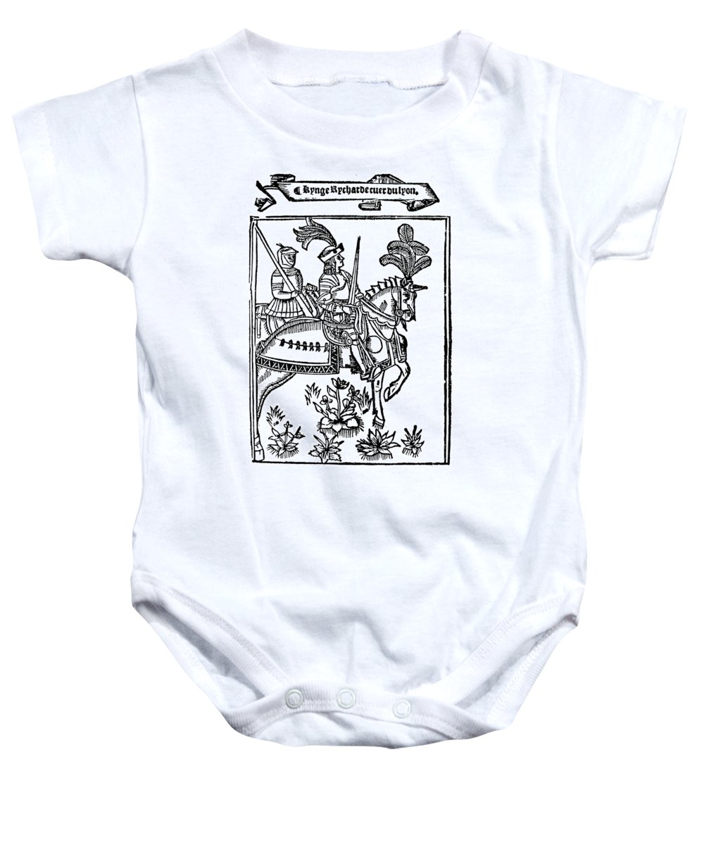 12th Century Baby Onesie featuring the photograph Richard I (1157-1199) by Granger