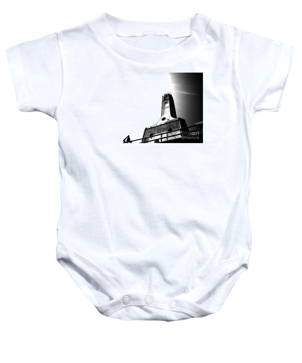 Light House Baby Onesie featuring the photograph Hope by Jamie Lynn