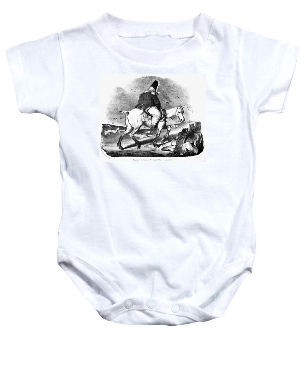 1834 Baby Onesie featuring the photograph Louis Philippe (1773-1850) by Granger