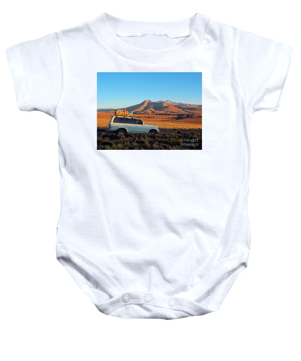 South America Baby Onesie featuring the photograph Bolivia by Karol Kozlowski
