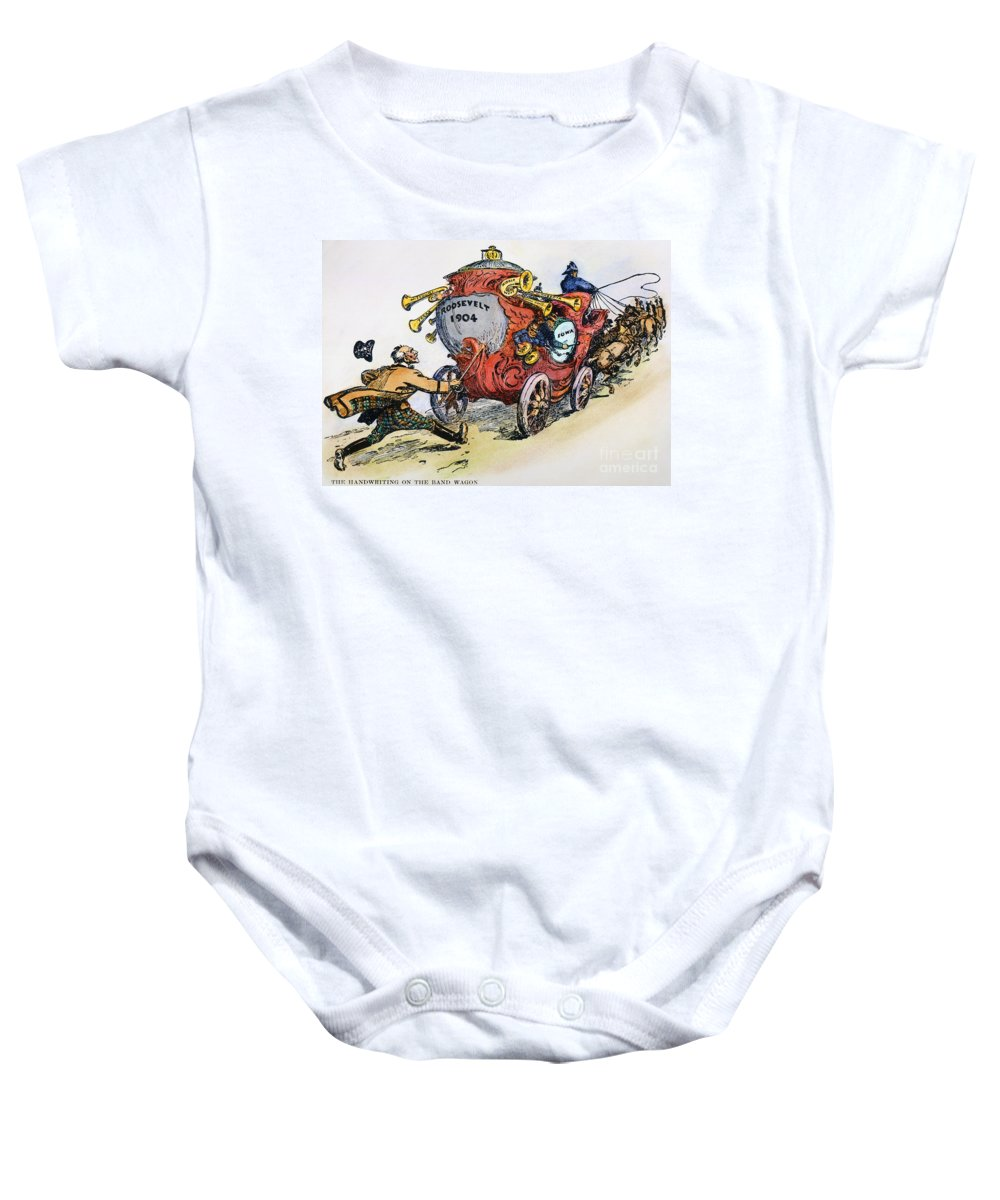 1902 Baby Onesie featuring the photograph Presidential Campaign 1904 by Granger