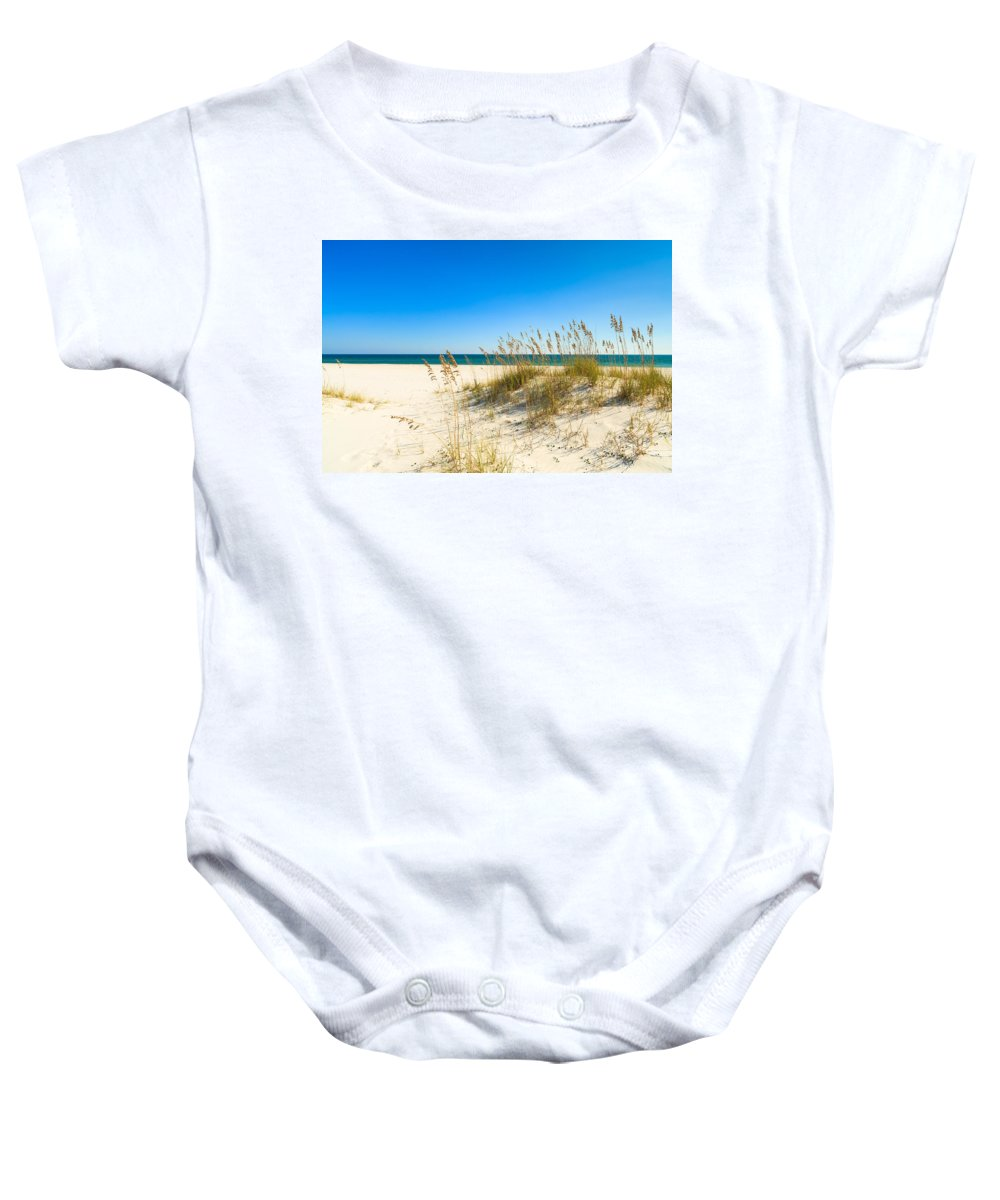 Florida Baby Onesie featuring the photograph Beautiful Beach by Raul Rodriguez