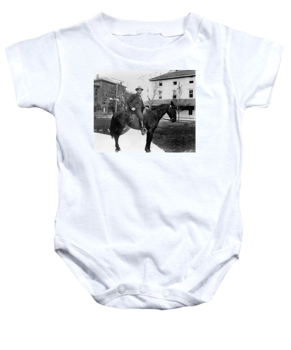 1906 Baby Onesie featuring the photograph Booker T. Washington by Granger
