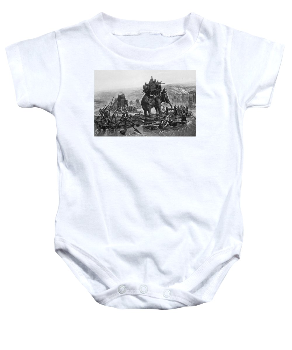 3rd Century B.c Baby Onesie featuring the photograph Hannibal (247-183 B.c.) by Granger
