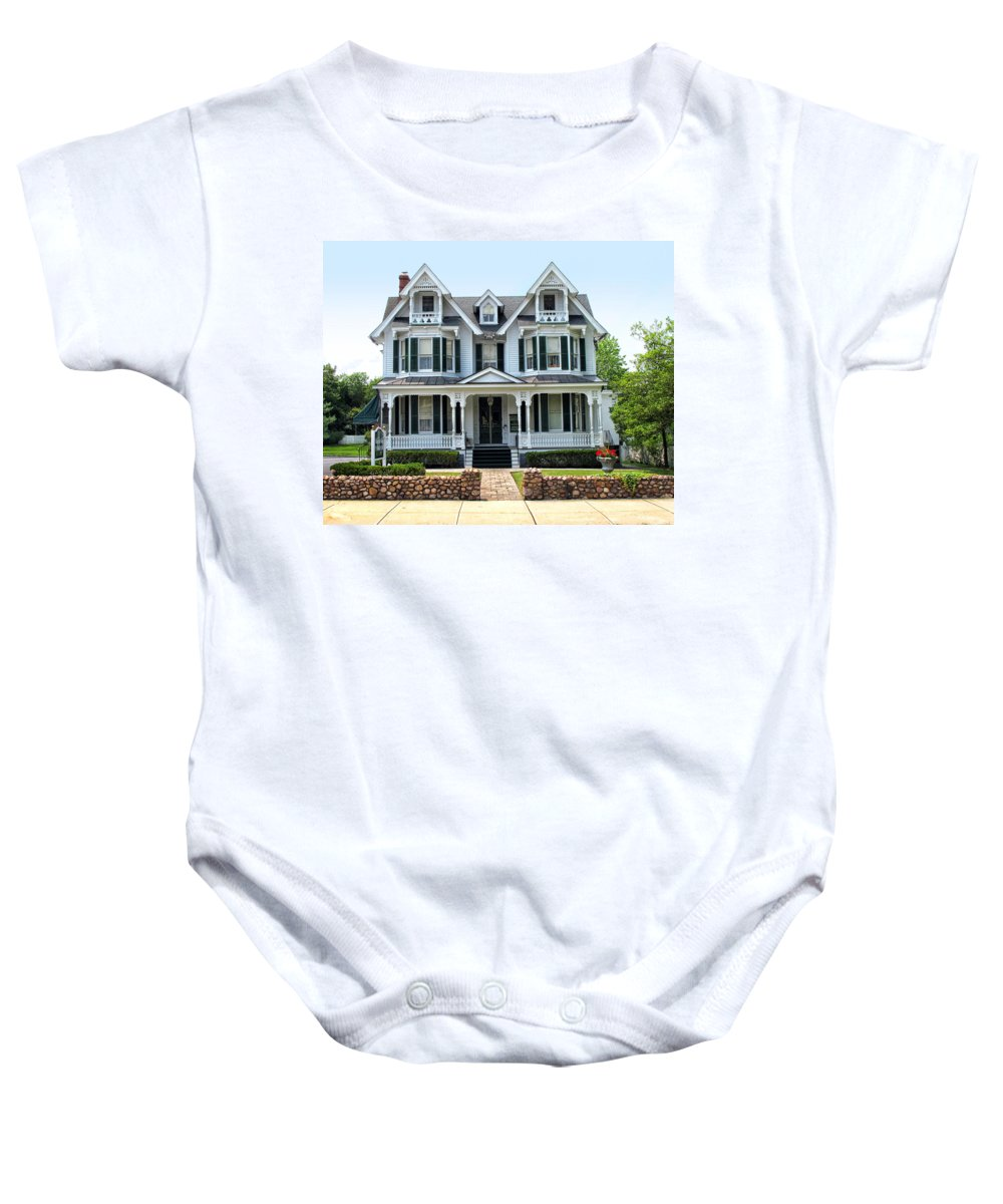 House Baby Onesie featuring the photograph Americana by Dave Mills