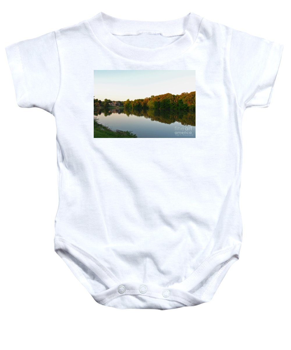 Landscape Baby Onesie featuring the photograph An Excellent Vantage Point by Todd Blanchard