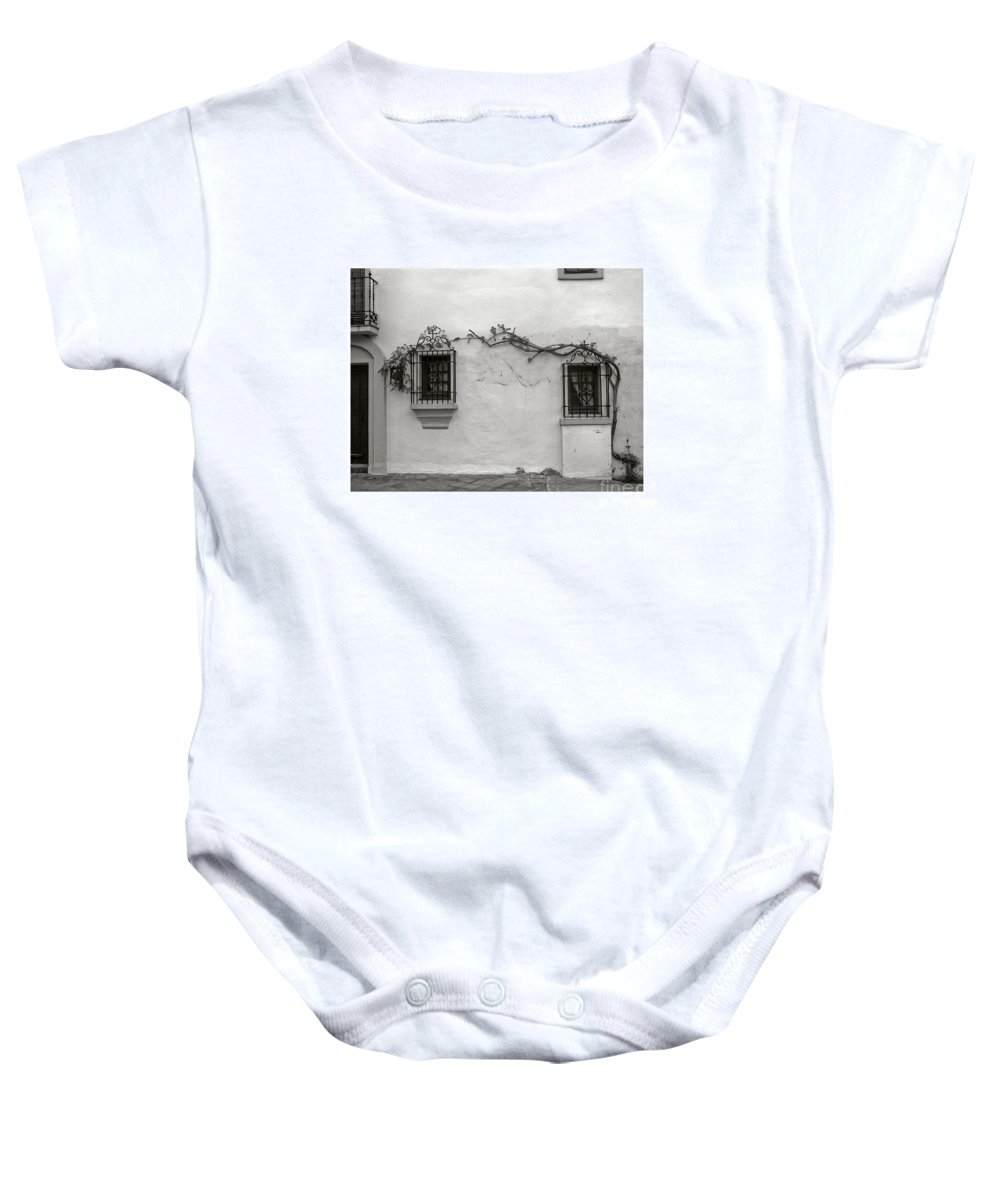 Andalucia Baby Onesie featuring the photograph Andalucia Wall by Thomas Marchessault
