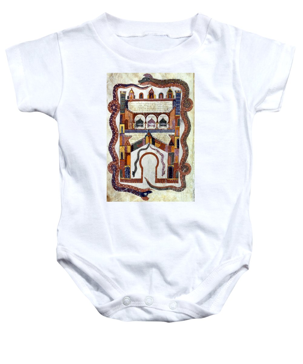 950 Baby Onesie featuring the photograph Apocalypse, C950 by Granger