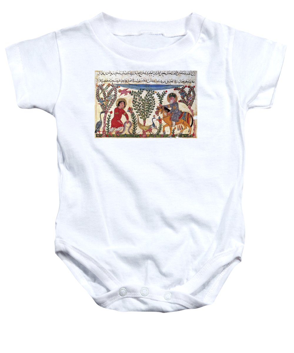 12th Century Baby Onesie featuring the photograph Arabic Physician by Granger