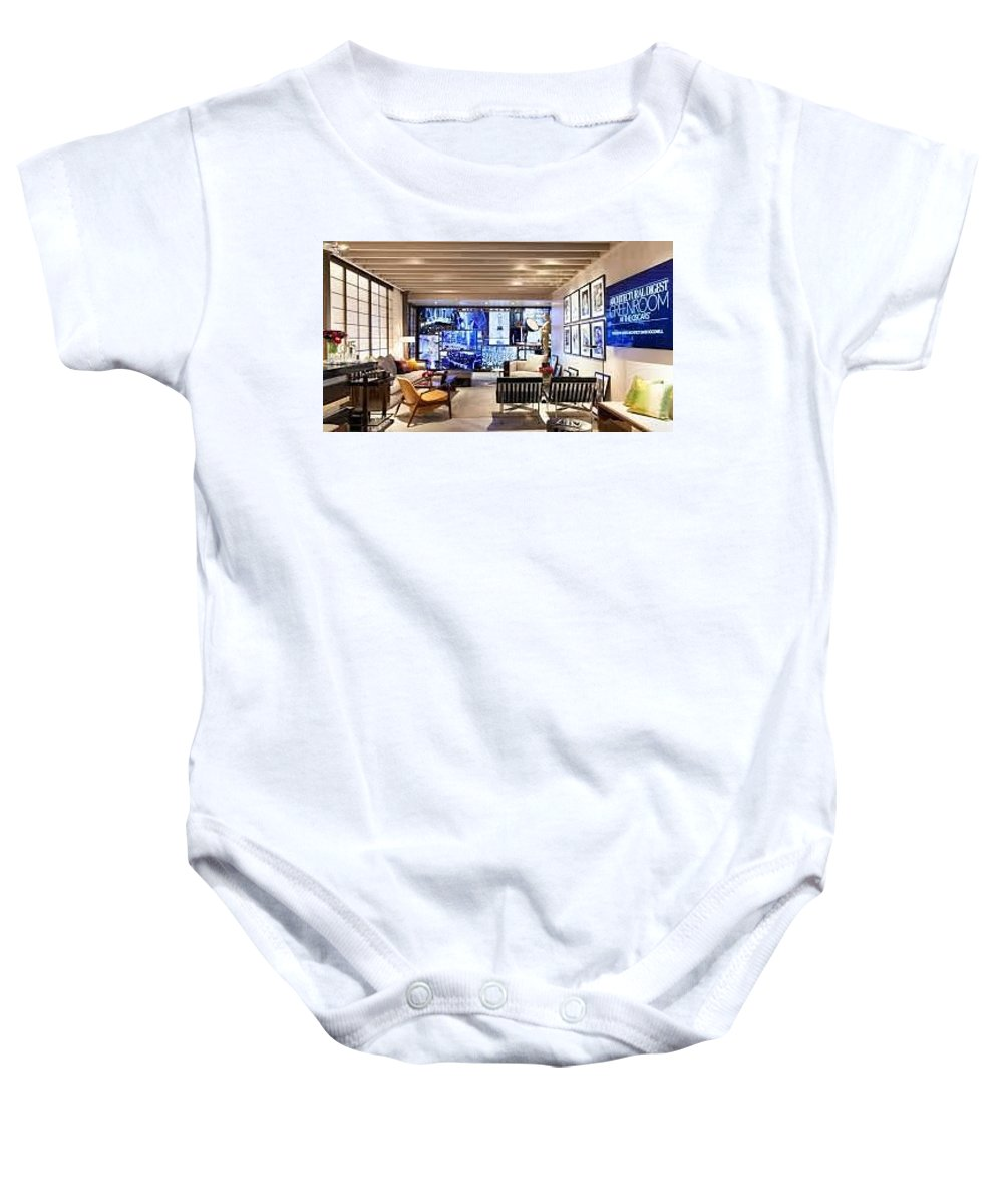 Architect Baby Onesie featuring the photograph Architect Firm In Los Angeles by Nsdesign