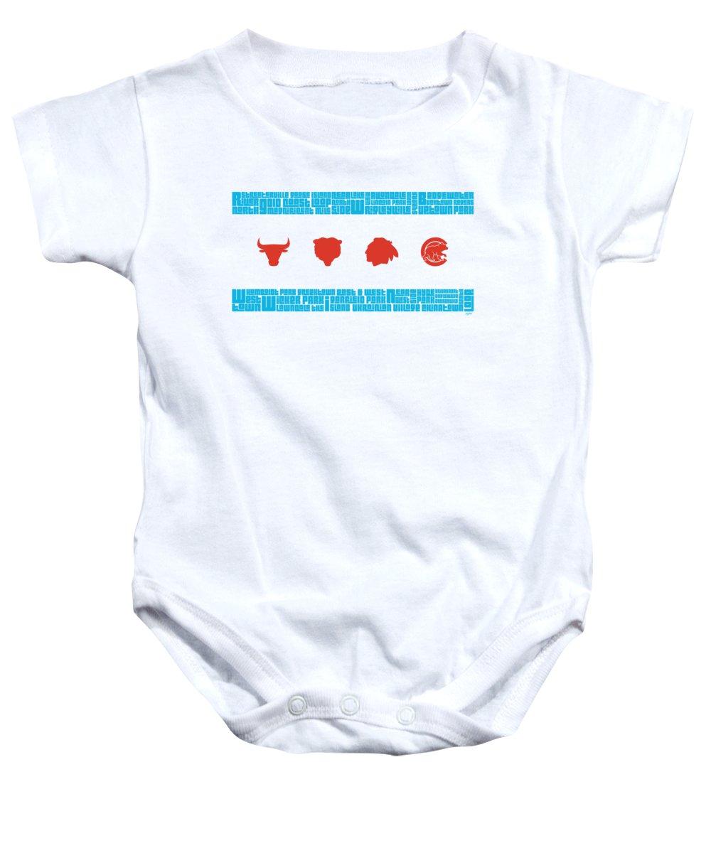 Sears Tower Baby Onesies