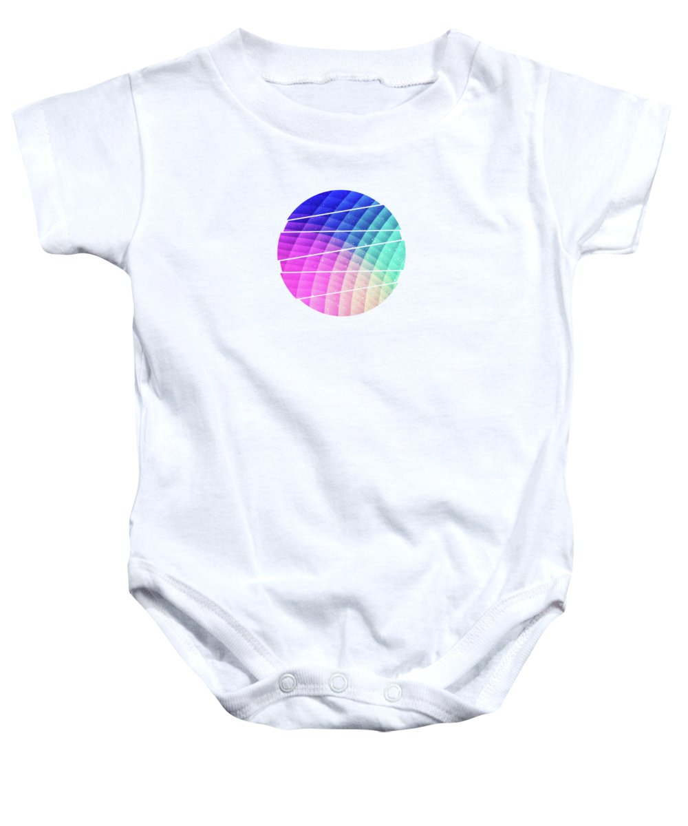 Abstract Colorful Art Pattern Ltbg Low Poly Texture Aka Spectrum Bomb  Photoshop Colorpicker Baby Onesie
