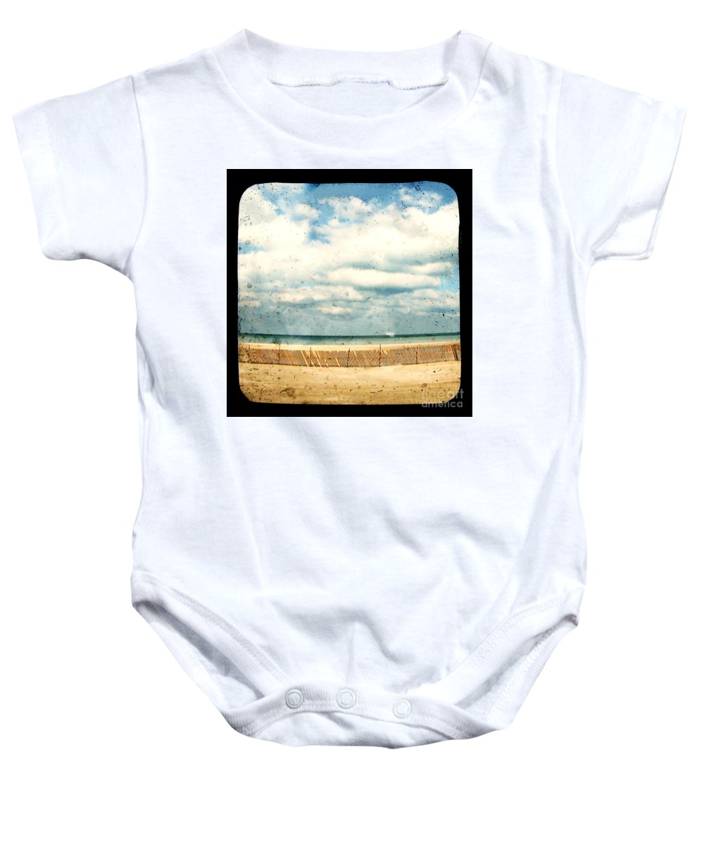 Ocea Baby Onesie featuring the photograph At Rest by Dana DiPasquale