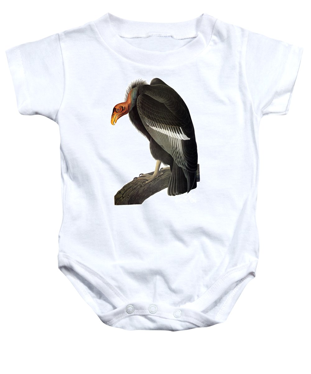 1827 Baby Onesie featuring the photograph Audubon: Condor by Granger