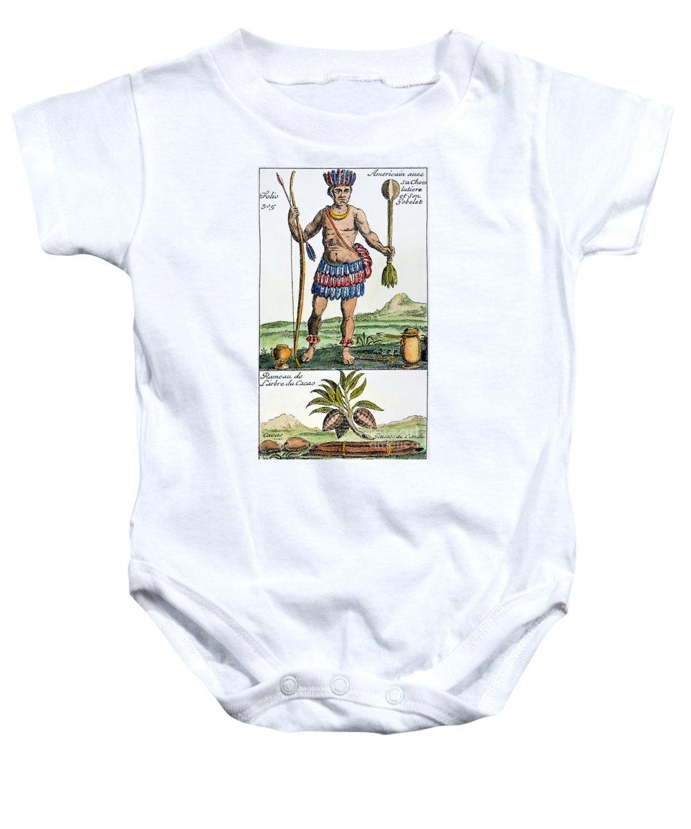 1685 Baby Onesie featuring the photograph Aztec: Chocolate, 1685 by Granger