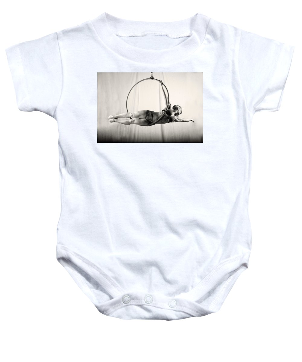 Balance Baby Onesie featuring the photograph Balance Of Power 20 by Monte Arnold