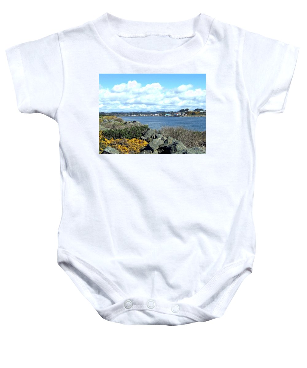 Bandon Baby Onesie featuring the photograph Bandon 2 by Will Borden