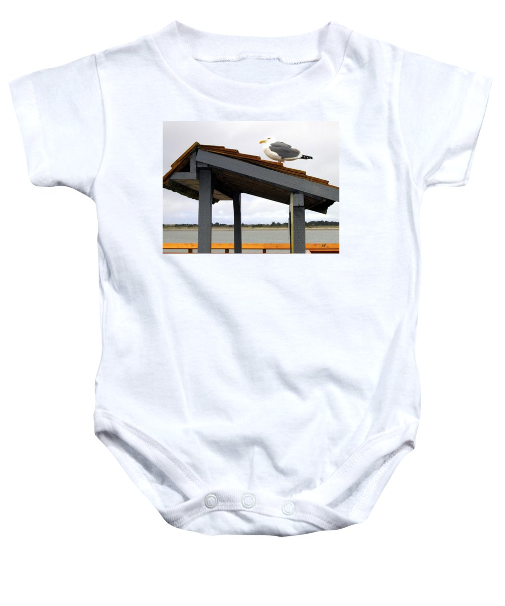 Bandon Baby Onesie featuring the photograph Bandon 3 by Will Borden
