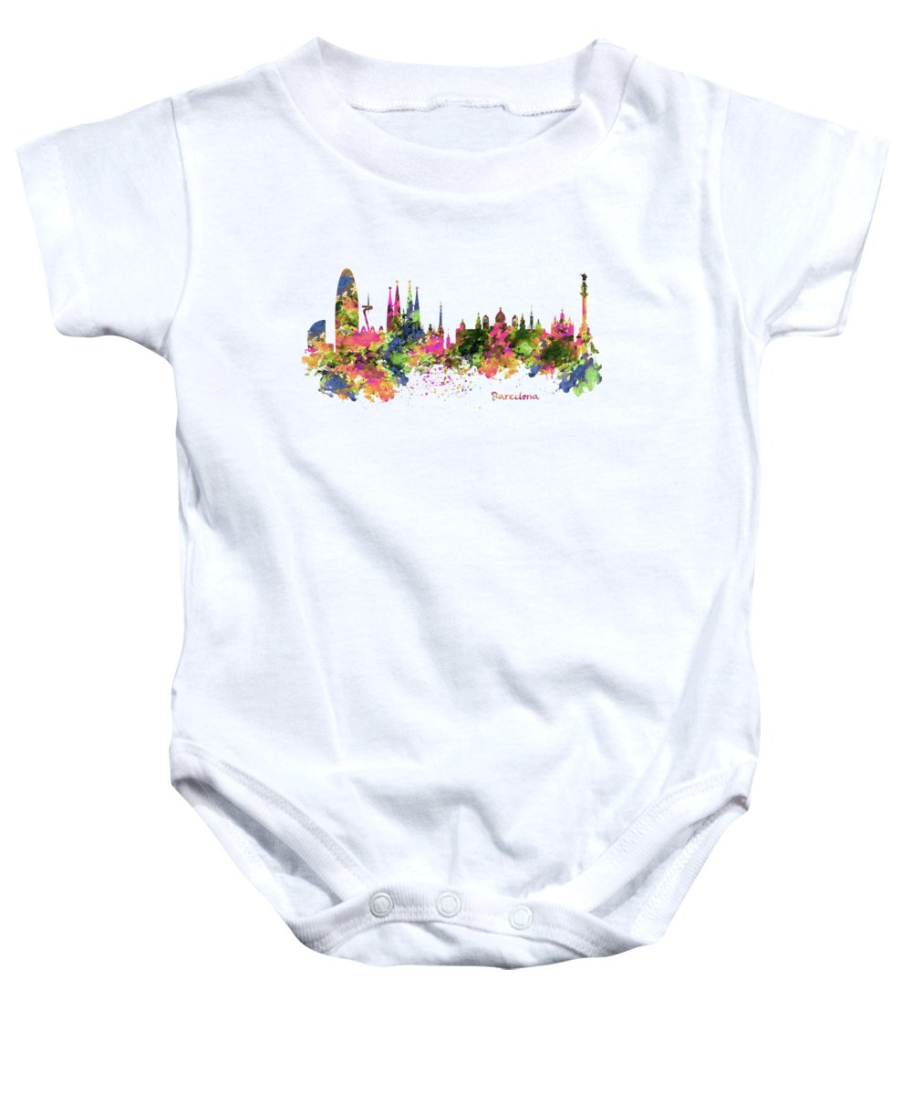 Barcelona Baby Onesies
