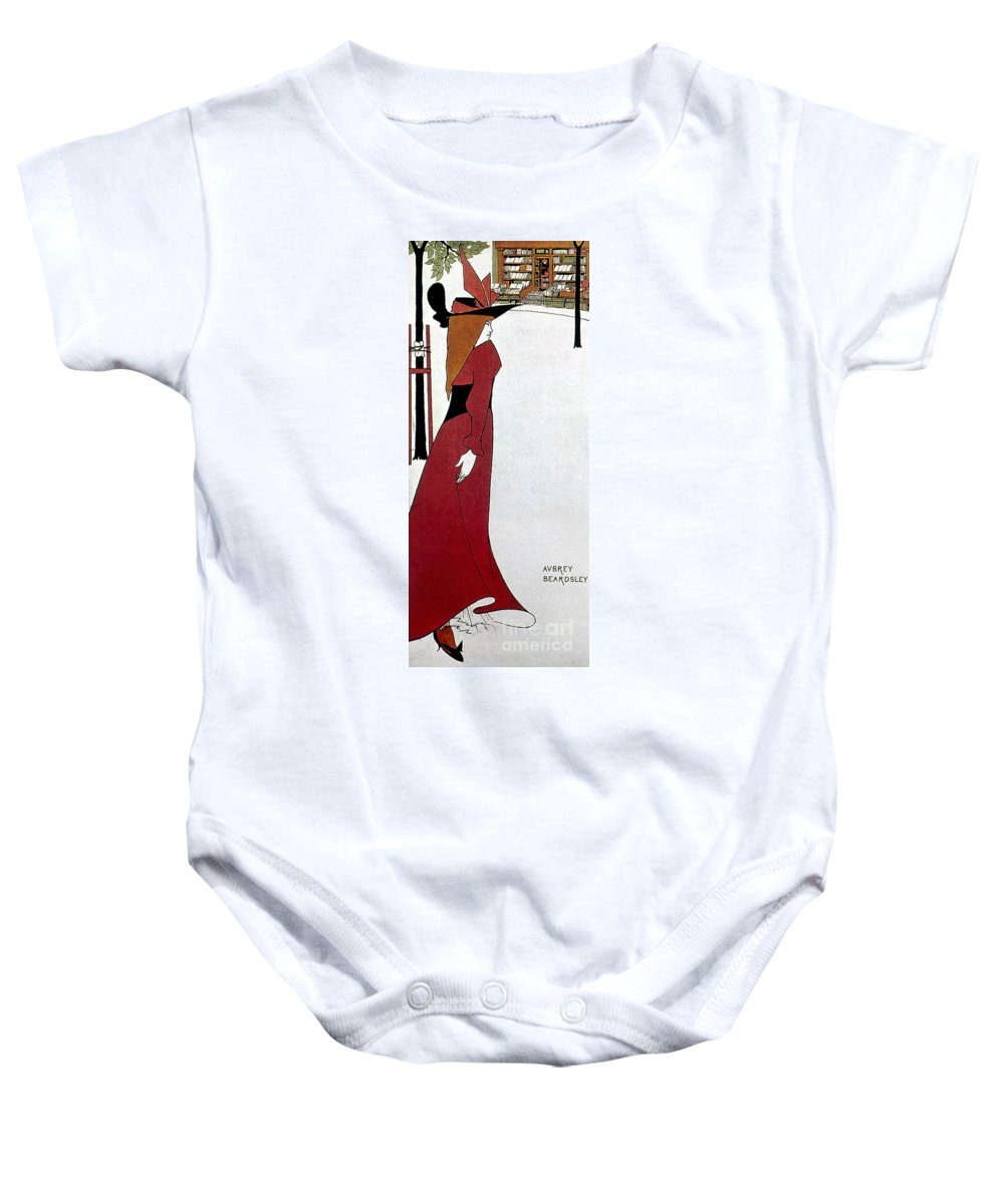 1895 Baby Onesie featuring the photograph Beardsley: Poster Design by Granger