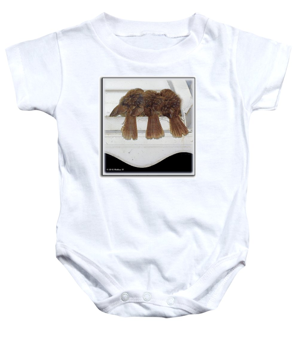 2d Baby Onesie featuring the photograph Birds Of A Feather by Brian Wallace