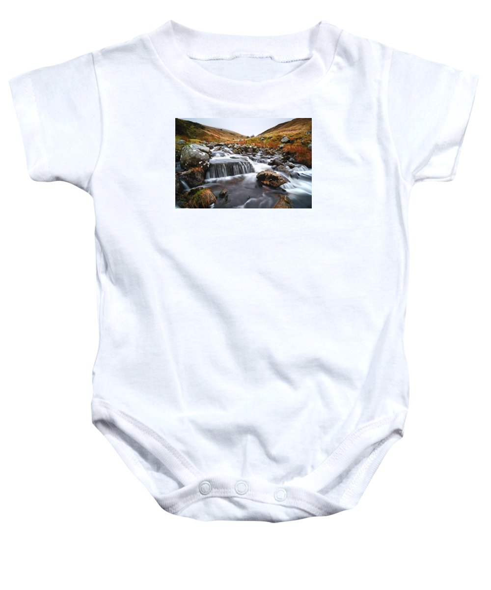 Brecon Beacons Baby Onesie featuring the photograph Brecon Beacons National Park 2 by Phil Fitzsimmons